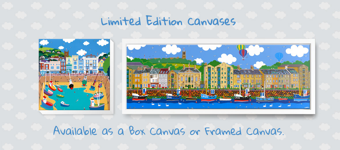 Canvases can be delivered anywhere in the UK - FREE DELIVERY!