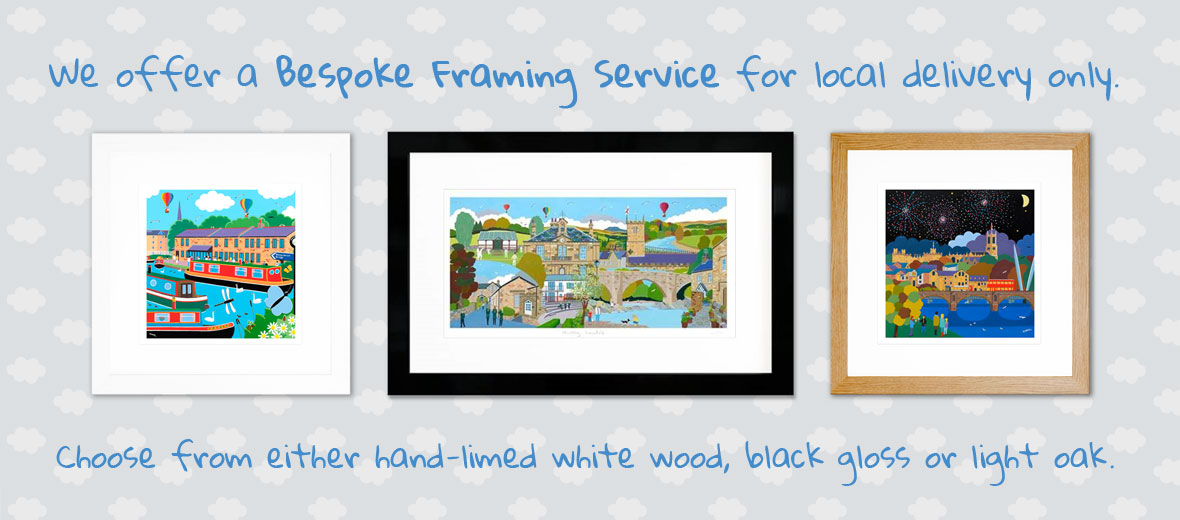 Would you like your print framed by us?