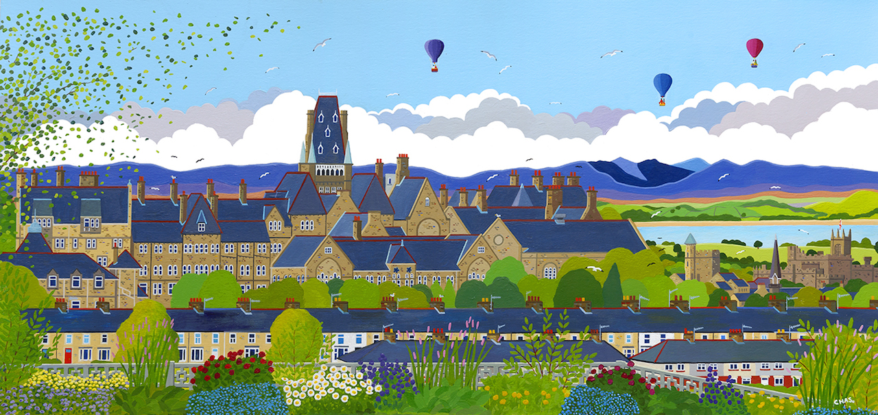 'View from Ardengate' Limited Edition Print of only 25!