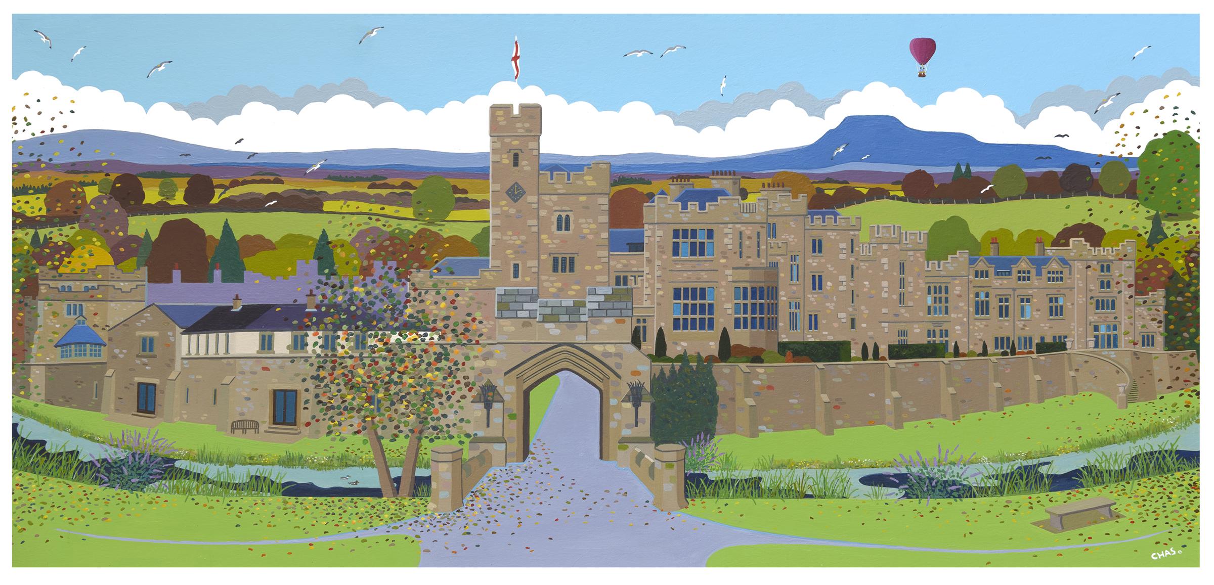 'Thurland Castle' - a recent commission